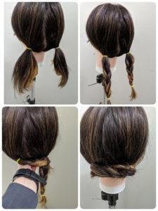 ミディアムヘアセット参考画像